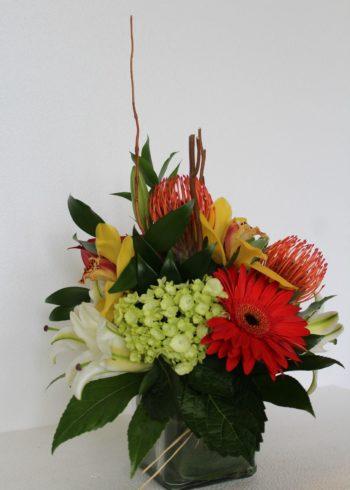 Tropical centerpieces (3)